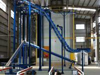 行业顶级装备——进口立式喷涂生产线